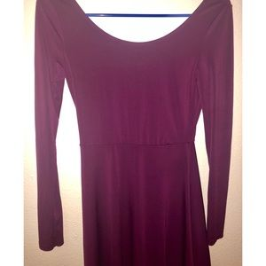 Dresses & Skirts - Grape Purple Mini Tight Dress